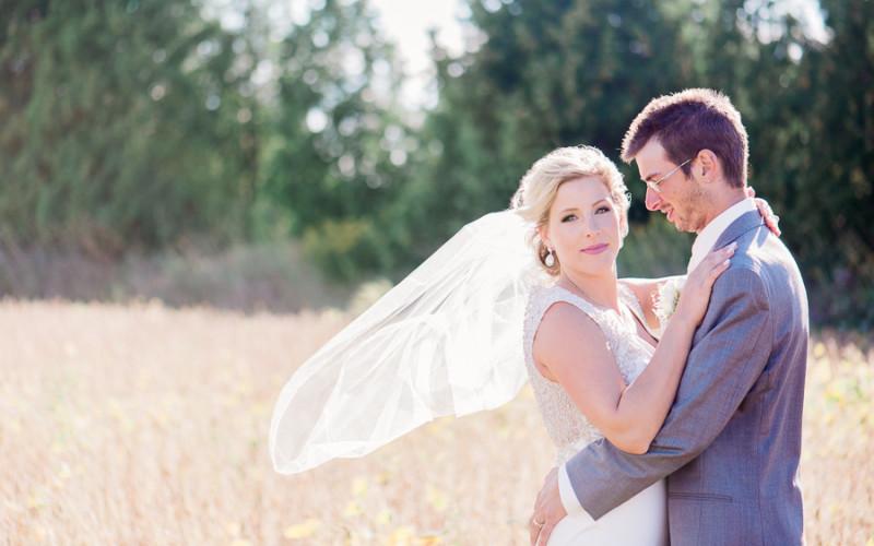justine & matt, camp kintail wedding
