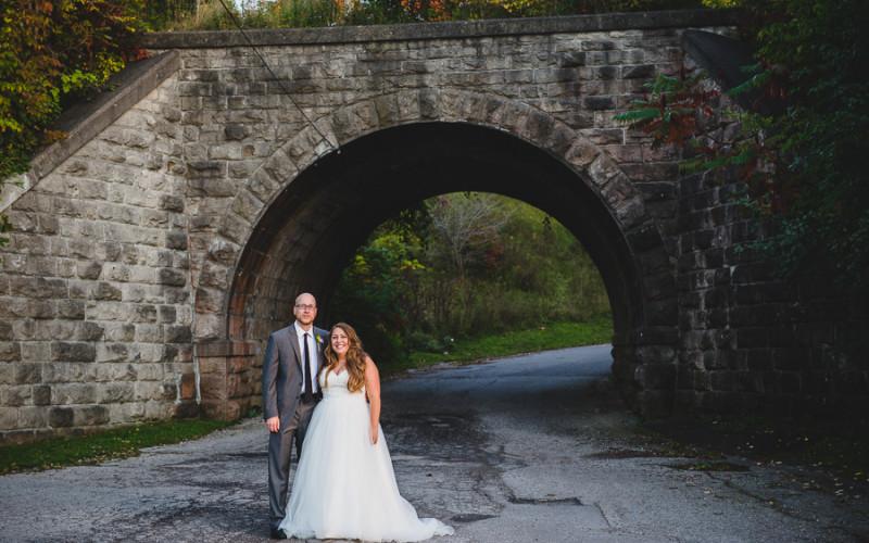 michael & beth, goderich wedding