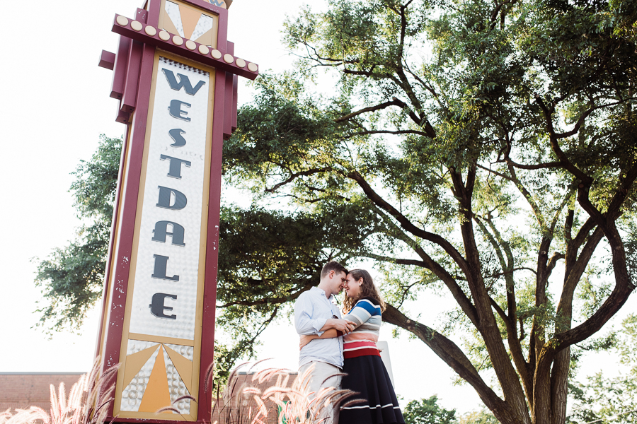 amber & will, westdale engagement session