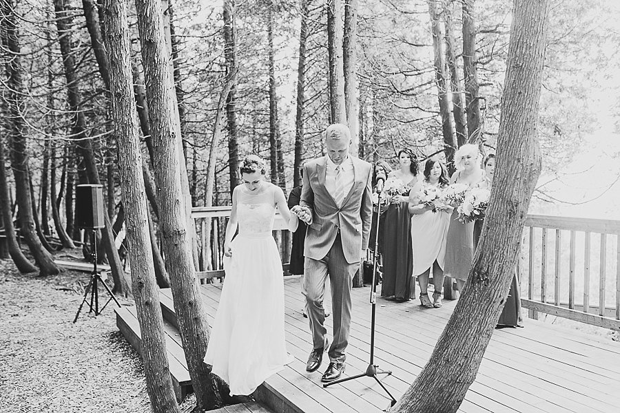 Woodsy Wedding at Camp Kintail, Ontario