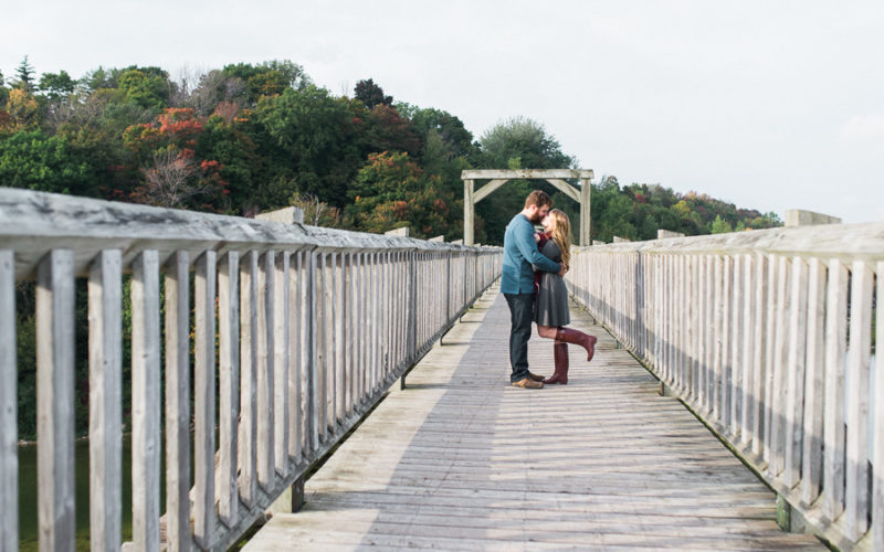 caitlin & matt, goderich engagement session