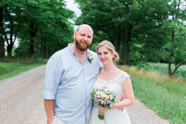 emily & matt, huron county barn wedding