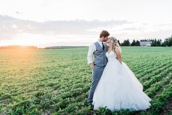 jess & andrew, grand bend backyard wedding