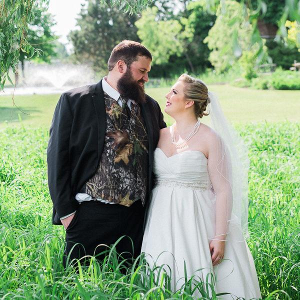 lisa & scott, hessenland country inn wedding