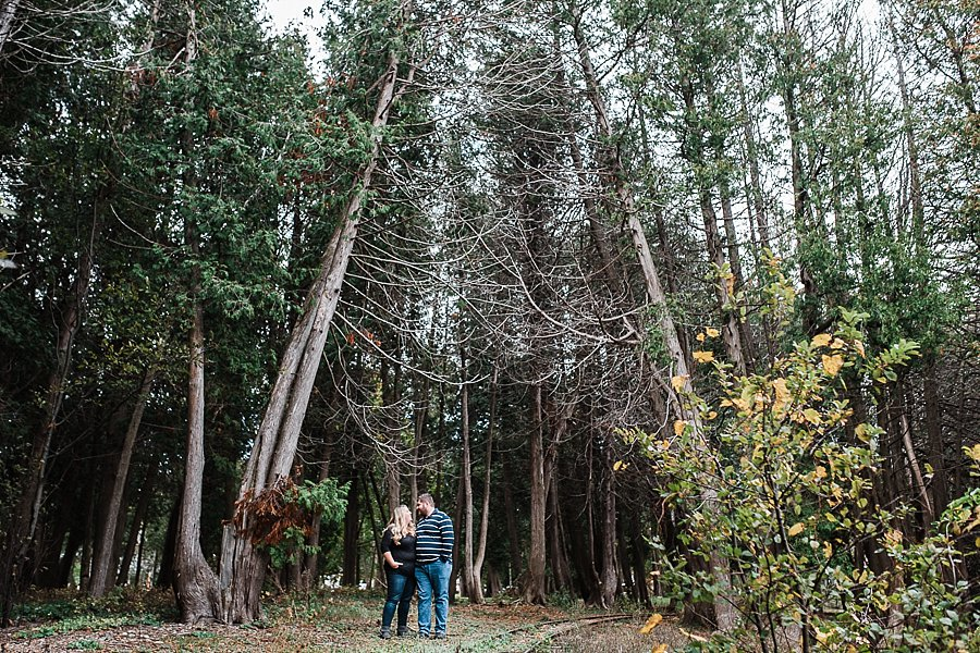 kate & ben, port elgin engagement session