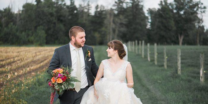 lindsay & jake, south huron ontario wedding
